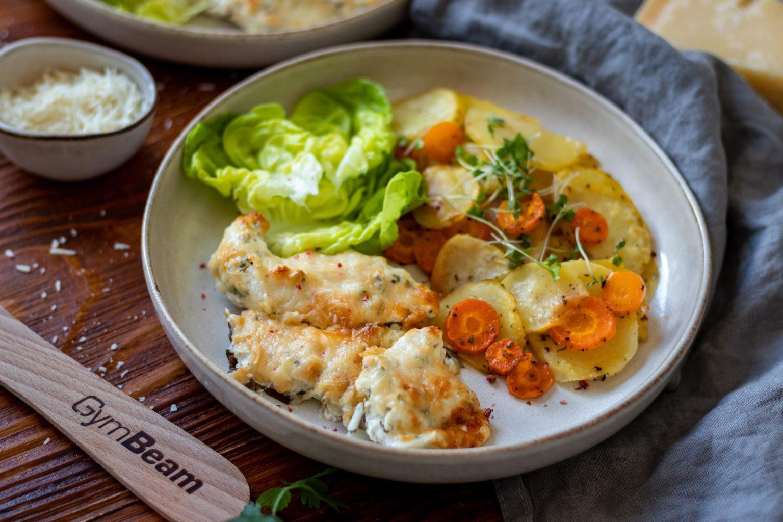 Fitness recept: sült csirkemell joghurtos pácban - GymBeam..