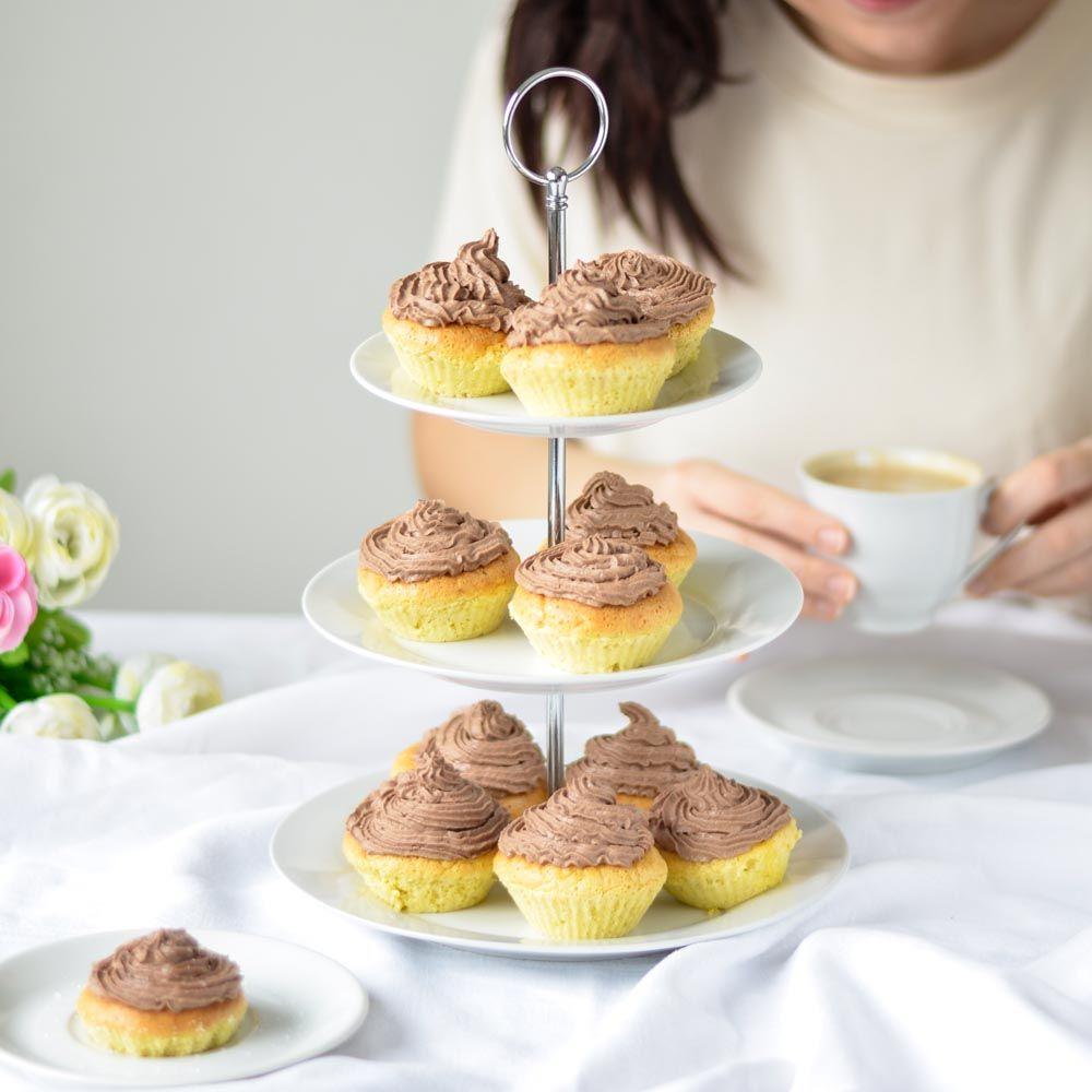 Habos csokoládékrémes muffinok - fitness receptek túróval