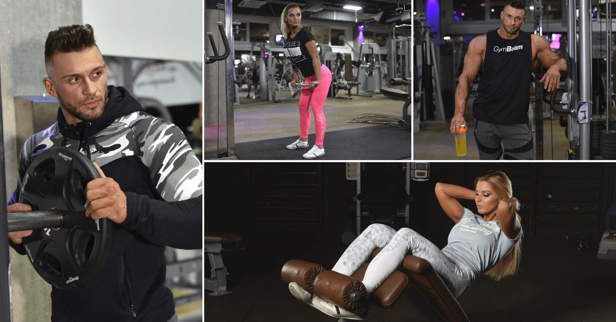 női és férfi fitness ruházat