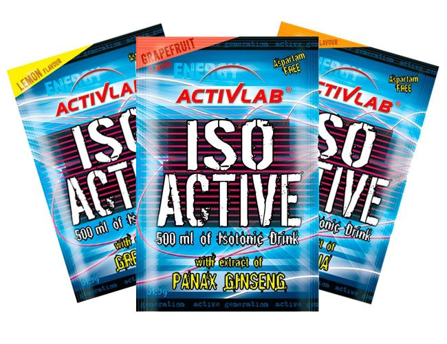 iso active activ lab