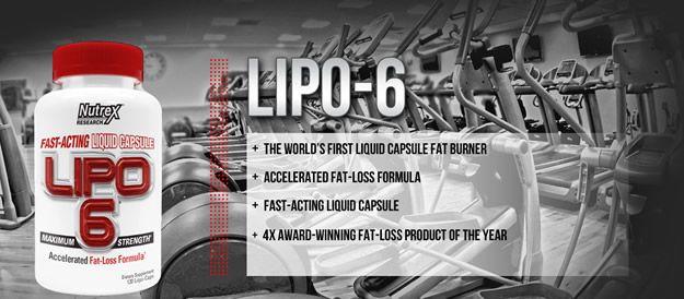 Lipo 6 Nutrex - zsírégető
