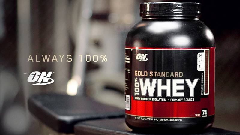 whey gold standard fehérje