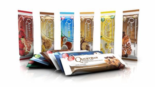 Quest Bar fehérjeszelet