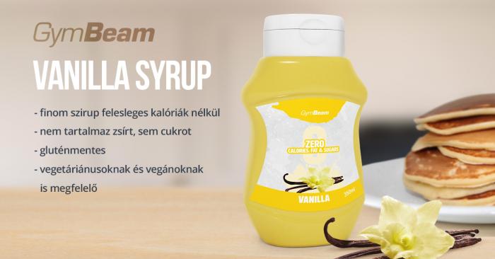 Vanilla kalóriamentes szirup - GymBeam