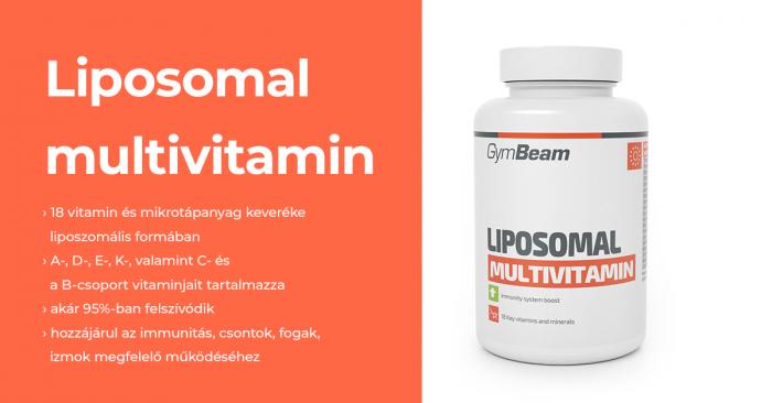 Liposzomális multivitamin - GymBeam