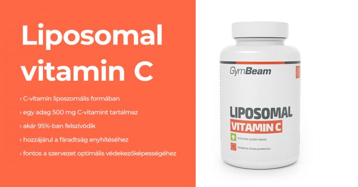 Liposzomális C-vitamin - GymBeam
