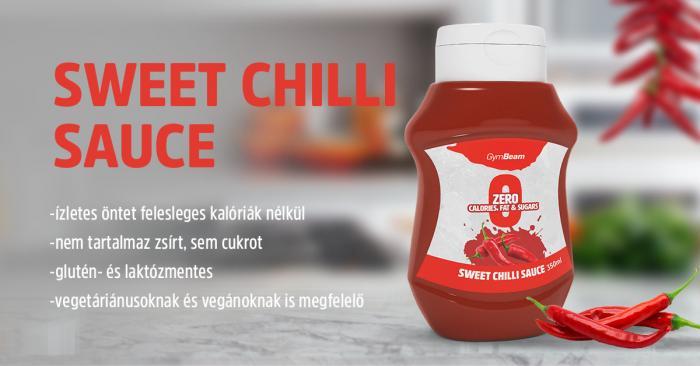 Sweet Chili kalóriamentes szósz - Gymbeam