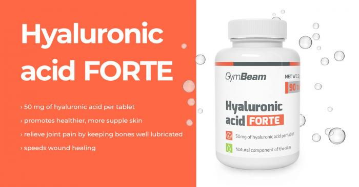Hyaluronic acid Forte - GymBeam