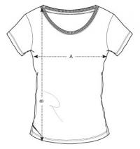 veľkosť trička