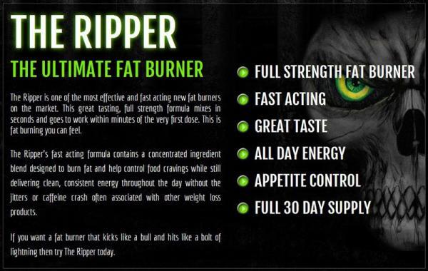 JNX Sports Cobra Labs The Ripper komplex zsírégető por g